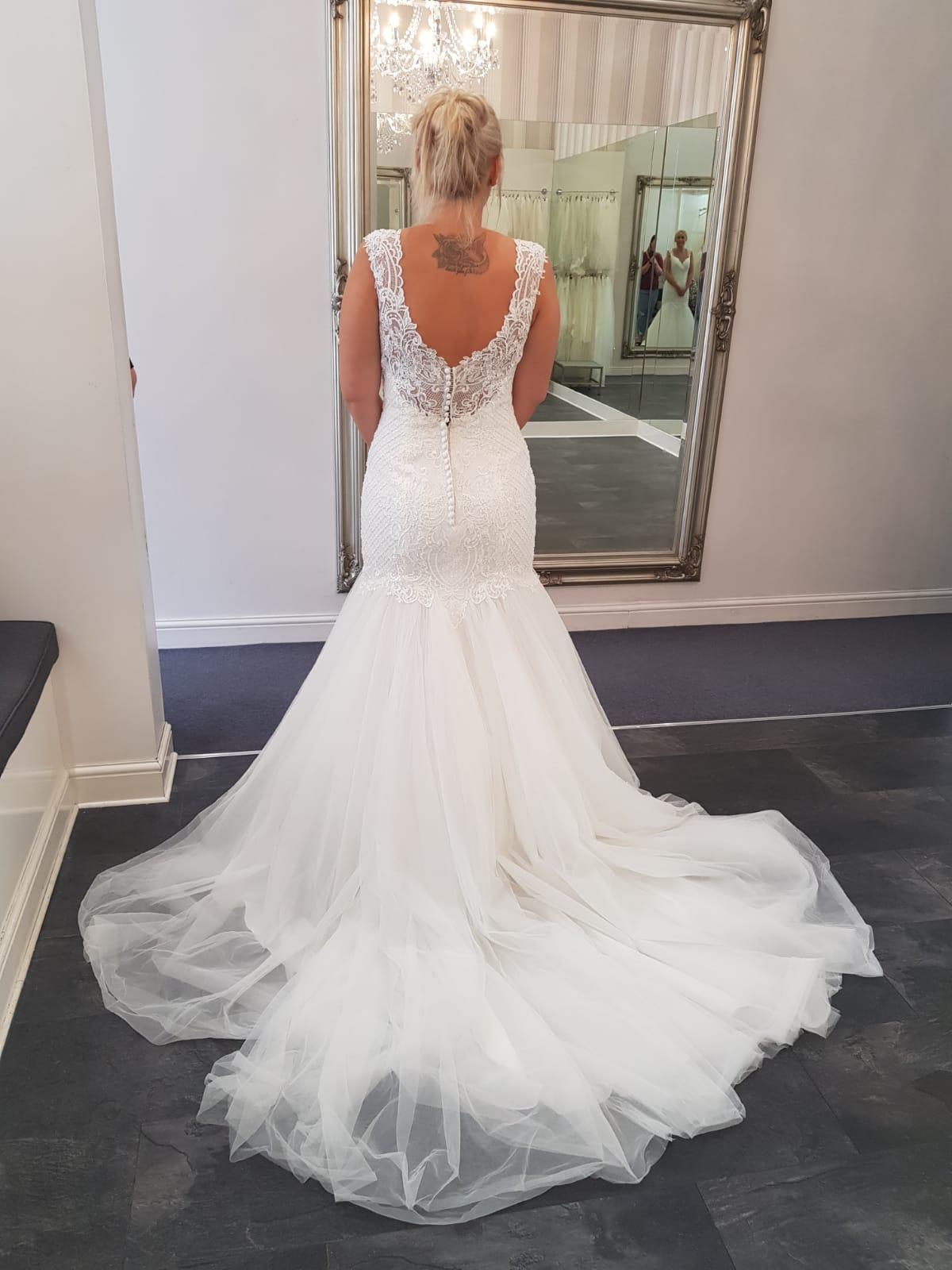Zelda Wedding Dress.Brand New Wedding Dress Size 14 Rebecca Ingram Zelda Style