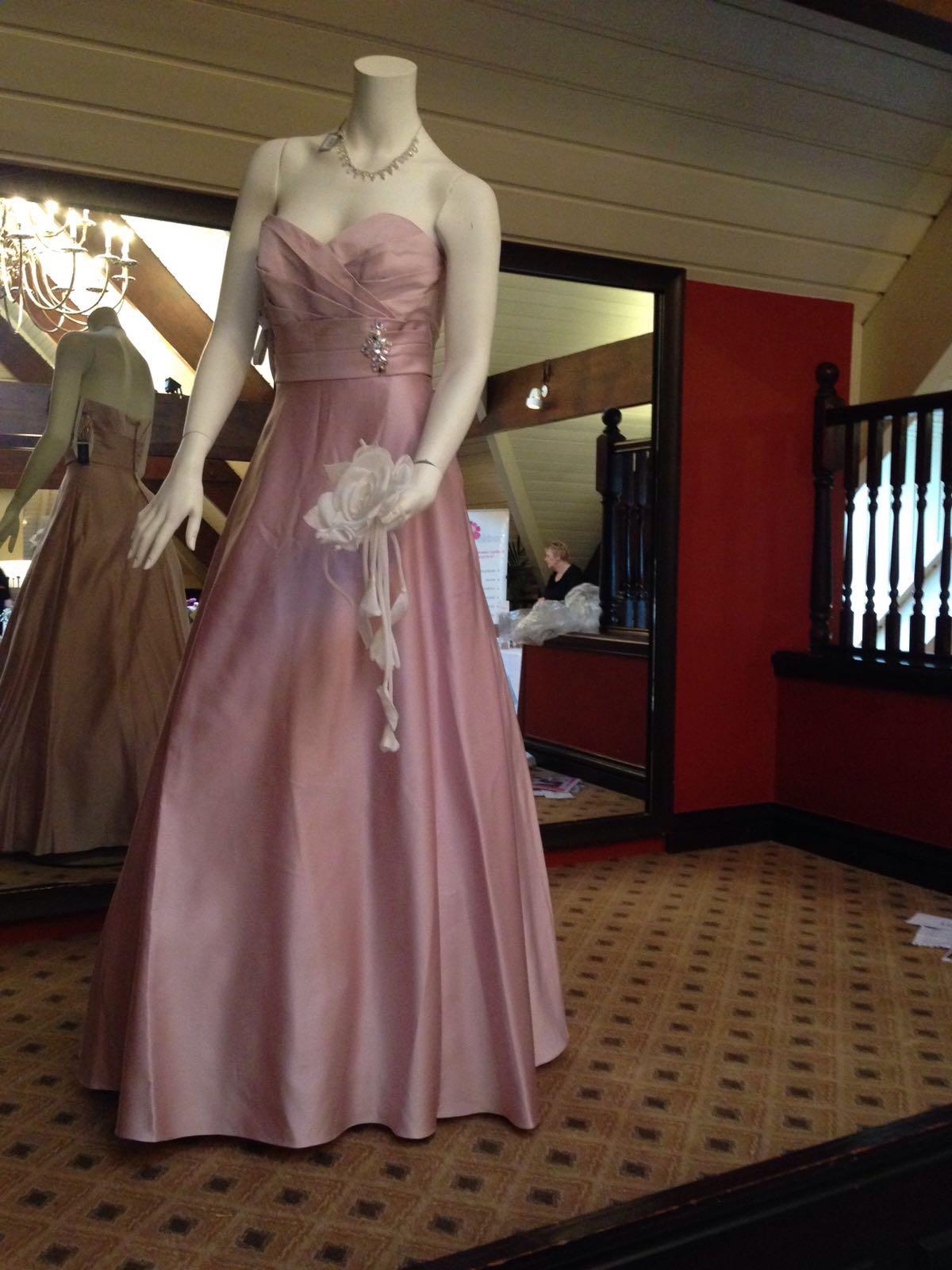 47a30e22f Alfred Angelo Bridesmaid dress - Brand New - Dusky Pink - silk ...